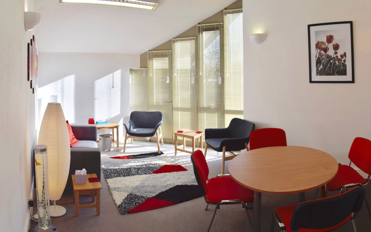 Photograph of the whole of the bookable Room 2